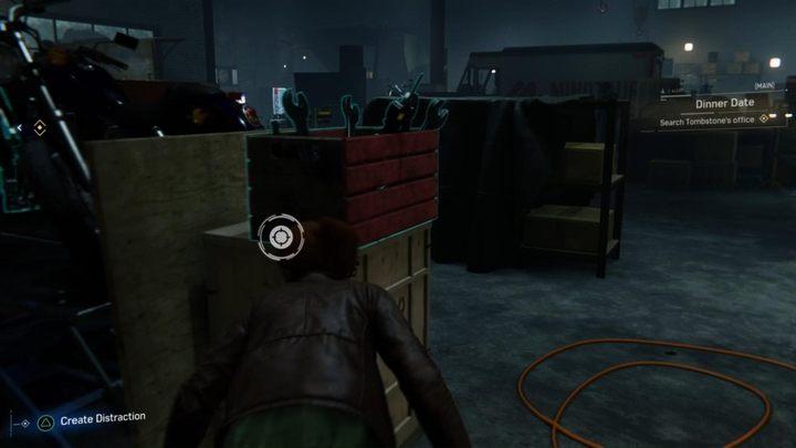 Po wstawce, idź w lewo i podejdź do skrzynki z narzędziami - Randka - Solucja Marvels Spider-Man - Marvels Spider-Man - poradnik do gry