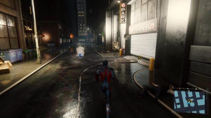 Na początku misji, pomóż policji w walce z bandytami - Z deszczu pod rynnę... - Solucja Marvels Spider-Man - Marvels Spider-Man - poradnik do gry
