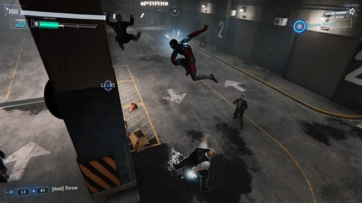Czeka cię dość długa potyczka - Z deszczu pod rynnę... - Solucja Marvels Spider-Man - Marvels Spider-Man - poradnik do gry