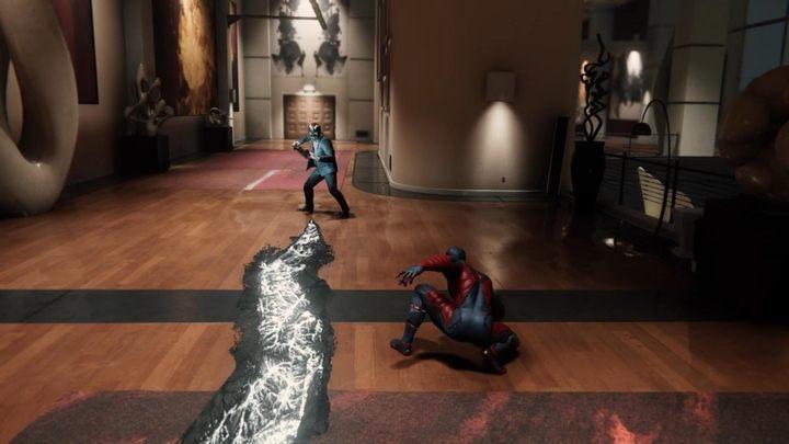 Zjawi się nowy typ przeciwnika - demon z mieczem - Z deszczu pod rynnę... - Solucja Marvels Spider-Man - Marvels Spider-Man - poradnik do gry