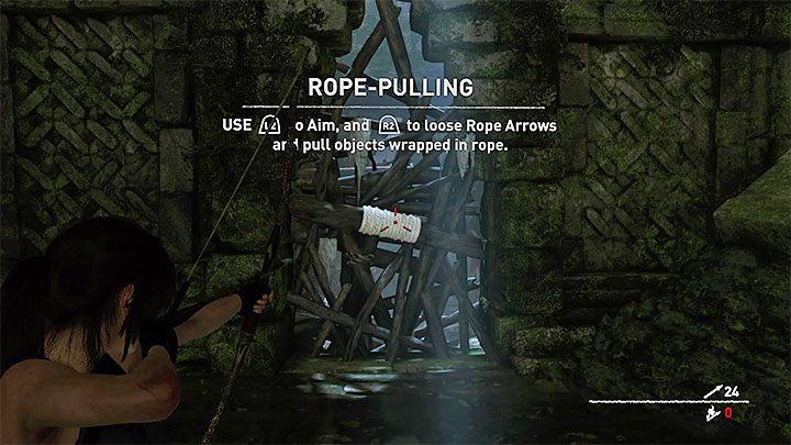 Przeciśnij się żeby dotrzeć do pierwszej małej sali ruin - Zbadanie ruin świątyni w Cozumel - Solucja Shadow of the Tomb Raider - Shadow of the Tomb Raider - poradnik do gry