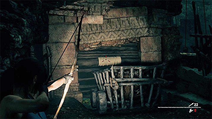Doskakuj do kolejnych wiszących konstrukcji z dużymi dzwonami - Zbadanie ruin świątyni w Cozumel - Solucja Shadow of the Tomb Raider - Shadow of the Tomb Raider - poradnik do gry