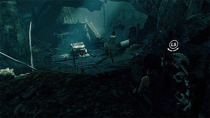 Dotrzyj teraz do pokazanego na powyższym obrazku górnego mechanizmu - Zbadanie ruin świątyni w Cozumel - Solucja Shadow of the Tomb Raider - Shadow of the Tomb Raider - poradnik do gry