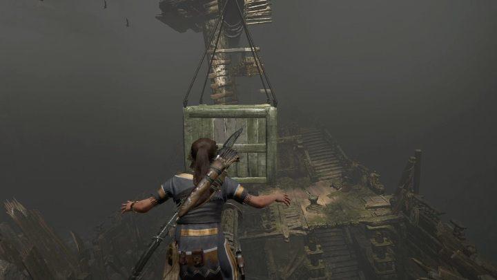 Twoim kolejnym zadaniem będzie wejście na bocianie gniazdo - Grobowce wyzwań w Cenote - Shadow of the Tomb Raider - poradnik do gry