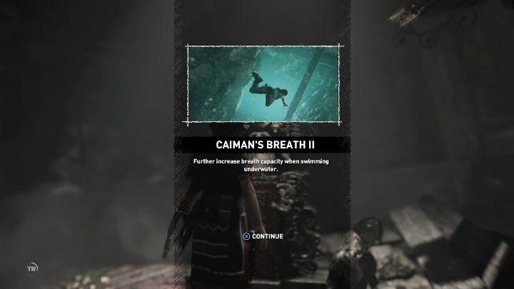 Na bocianim gnieździe musisz połączyć ze sobą dwie części liny - pokazane na screenie powyżej i zjechać po niej na drugą stronę - Grobowce wyzwań w Cenote - Shadow of the Tomb Raider - poradnik do gry
