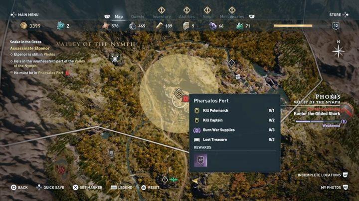 Po wykonaniu poprzednich zadań, w końcu jesteś w stanie zlokalizować miejsce pobytu Elpenora - Strzeż się węży - Solucja gry Assassins Creed Odyssey - Assassins Creed Odyssey - poradnik do gry