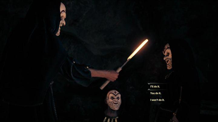 Porozmawiaj z Herodotosem o Kulcie Kosmosa - Strzeż się węży - Solucja gry Assassins Creed Odyssey - Assassins Creed Odyssey - poradnik do gry