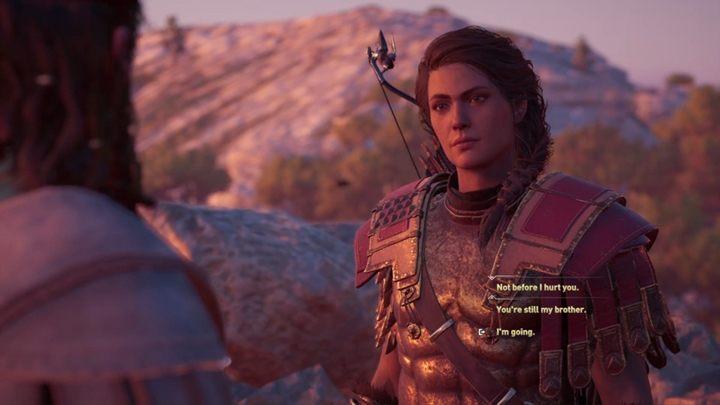 Wyjdź na zewnątrz, a spotkasz Dejmosa - Stary wróg, nowy sojusznik - Solucja gry Assassins Creed Odyssey - Assassins Creed Odyssey - poradnik do gry