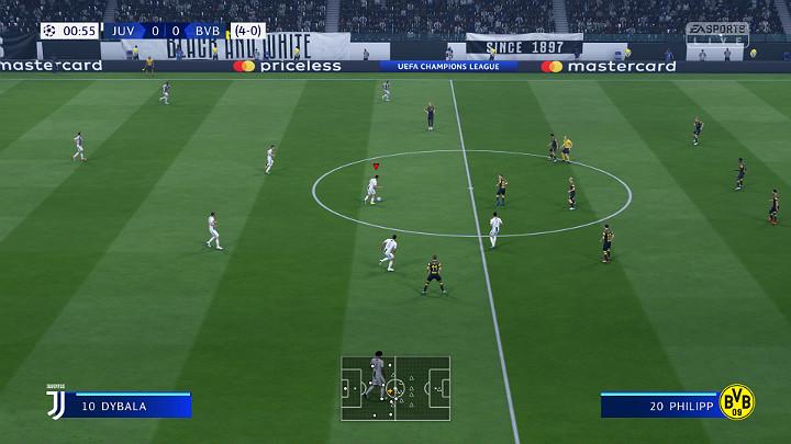 Przygotowanie dobrego i skutecznego ataku pozycyjnego wymaga wiele cierpliwości i dokładności przy wykonywaniu dużej ilości podań - Atak i kontra w FIFA 19 - FIFA 19 - poradnik do gry