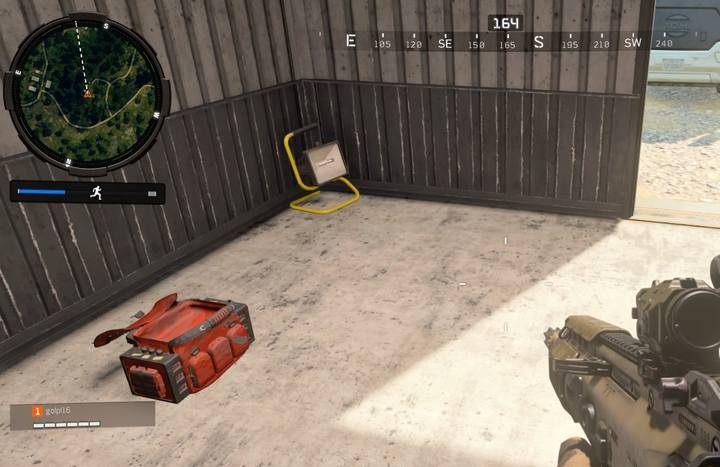 Zestaw pierwszej pomocy w formie czerwono-czarnych apteczek znajdziesz zawsze w sekretnych plecakach pojawiający się czasem w losowych lokacjach. - Porady - Tryb Blackout w Call of Duty Black Ops 4 - Call of Duty Black Ops 4 - poradnik do gry