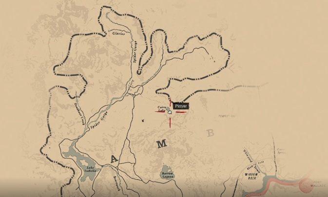 Aby zdobyć pierwszą mapę musisz udać się na północną część mapy, do regionu Ambarino - Jak zdobyć sztabkę złota i gdzie ją sprzedać w Red Dead Redemption 2? - Red Dead Redemption 2 - poradnik do gry