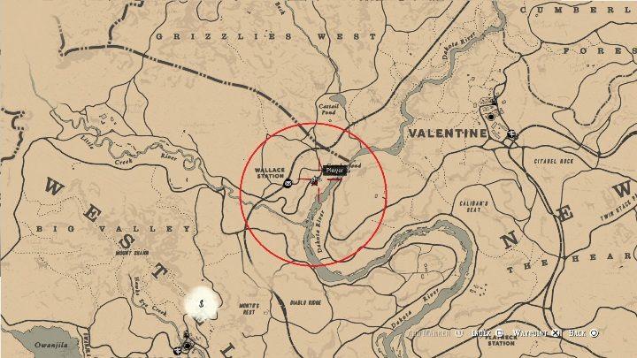 Mapa Red Dead Redemption.Mapa Kosztownego Skarbu Sekrety I Znajdzki W Red Dead