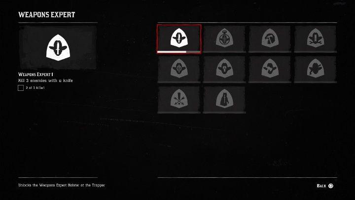 Znawca broni 1 (Weapons Expert 1) - Wszystkie wyzwania w Red Dead Redemption 2 - Red Dead Redemption 2 - poradnik do gry
