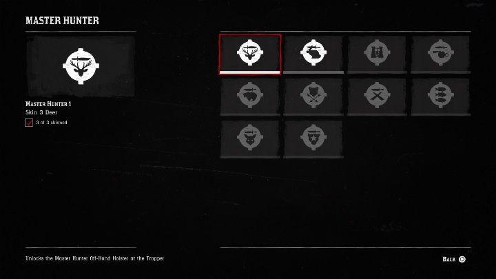 Mistrz Łowiectwa 1 (Master Hunter 1) - Wszystkie wyzwania w Red Dead Redemption 2 - Red Dead Redemption 2 - poradnik do gry