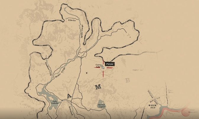 Dostęp do niej zyskasz po rozpoczęciu 2 rozdziału gry - Skażony szlak - The Poisonous Trail Treasure Hunt - Sekrety i znajdźki RDR2 - Red Dead Redemption 2 - poradnik do gry