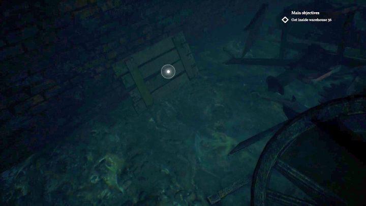 Lokalizacja dźwigni. - Jak otworzyć klapę w Darkwater w Call of Cthulhu? - Call of Cthulhu - poradnik do gry