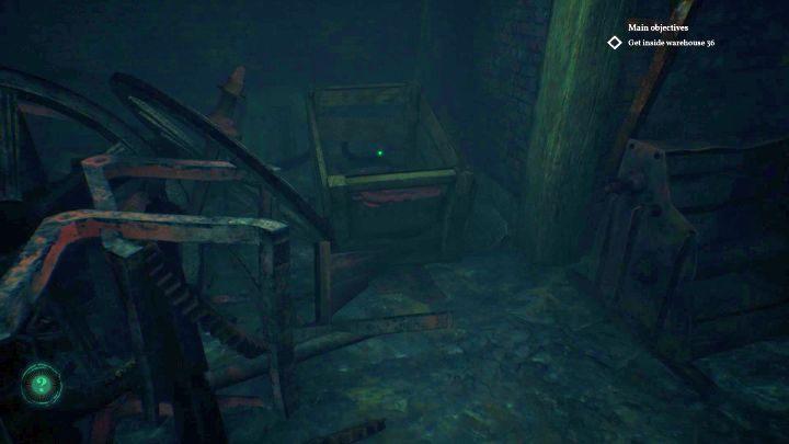 Lokalizacja urządzenia z zapadką. - Jak otworzyć klapę w Darkwater w Call of Cthulhu? - Call of Cthulhu - poradnik do gry