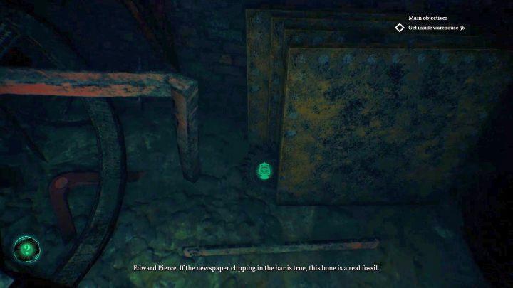 Lokalizacja ostatniego elementu, Trybu. - Jak otworzyć klapę w Darkwater w Call of Cthulhu? - Call of Cthulhu - poradnik do gry