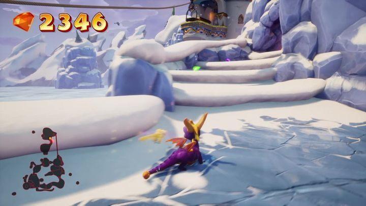 Lodowy Szczyt Solucja Do Spyro Year Of The Dragon Spyro