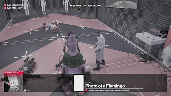 Wejdź w interakcję z androidem i umieść w nim zdjęcie flaminga - Miami | Trofea w grze Hitman 2 - Hitman 2 - poradnik do gry
