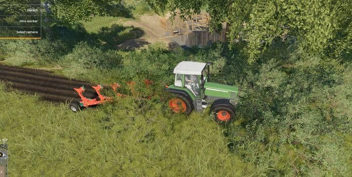 Inaczej sprawa ma się z krzewami - Jak usuwać pnie i krzewy w Farming Simulator 19? - Farming Simulator 19 - poradnik do gry