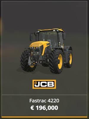 JCB Fastrac 4220 - Jaki traktor wybrać na początek w Farming Simulator 19? - Farming Simulator 19 - poradnik do gry