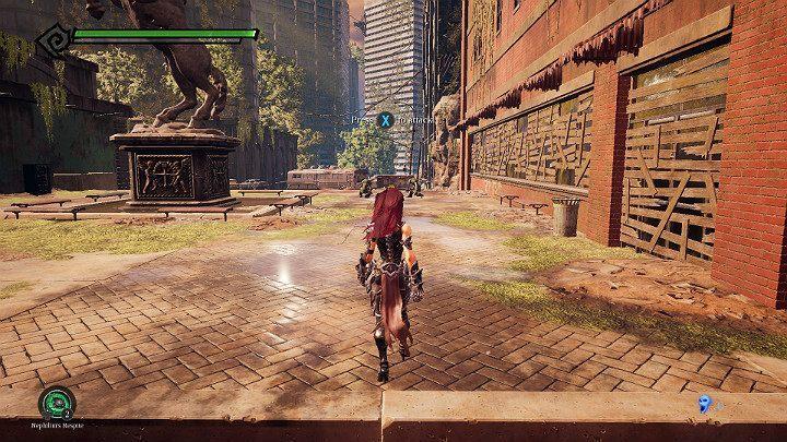 Rozgrywkę rozpoczynasz w mieście zaatakowanym przez potwory - Zachodni kraniec | Solucja do gry Darksiders 3 - Darksiders 3 - poradnik do gry