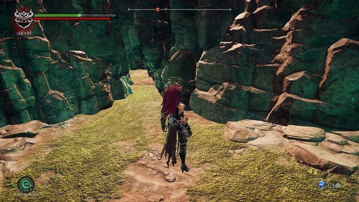 Kolejnym etapem Twojej przygody będzie przejście przez wąski korytarz - Zachodni kraniec | Solucja do gry Darksiders 3 - Darksiders 3 - poradnik do gry