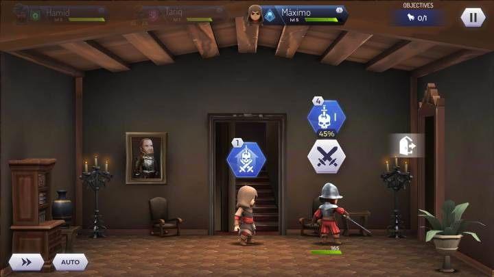 Może zdarzyć się tak, że gdy będziesz wchodził do pomieszczenia nie będziesz widzieć więcej niż jednego przeciwnika - Walka z grupą przeciwników w Assassins Creed Rebellion - Assassins Creed Rebellion - poradnik do gry