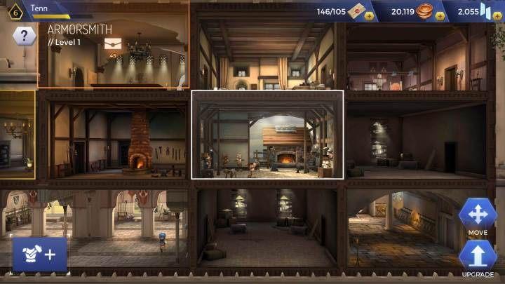 Aby stworzyć zbroje musisz postawić w centrali Armorsmith - Zbroje w Assassins Creed Rebellion - Assassins Creed Rebellion - poradnik do gry