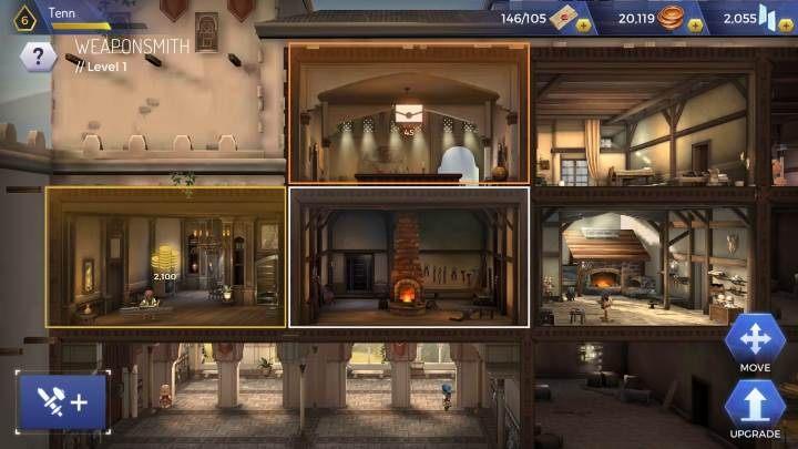 Aby stworzyć bronie musisz postawić w centrali Weaponsmith - Broń w Assassins Creed Rebellion - Assassins Creed Rebellion - poradnik do gry