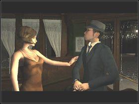 Na wprost zauwa�y�em w�a�ciciela Bistro graj�cego w karty z go�ciem ubranym w str�j pracownika Hotelu Orphee - Alambic Bistro - Post Mortem - poradnik do gry