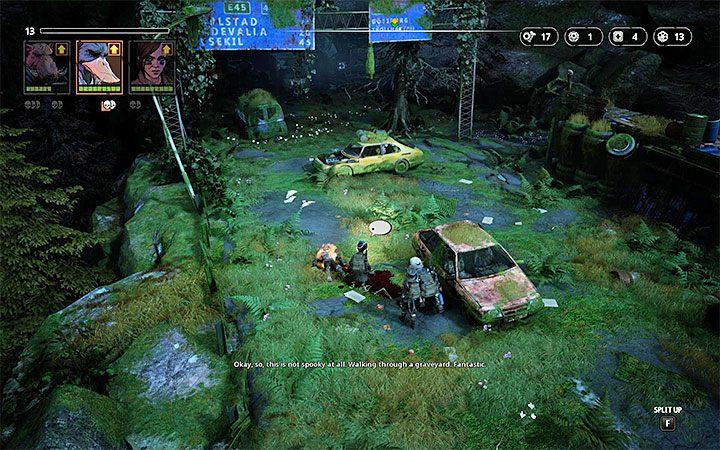 Przeciwnicy - Zone Dog (poziom 5), Butcher (poziom 10), Hunter (poziom 10), Shaman (poziom 10), Med-Bot (poziom 10), Marauder (poziom 10) - The High Road - Atlas świata Mutant Year Zero - Mutant Year Zero - poradnik do gry