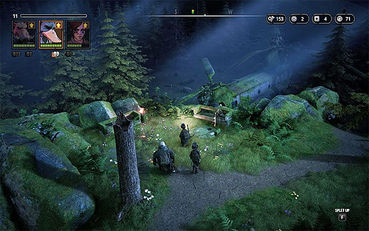 Przeciwnicy - Butcher (poziom 5), Pyro (poziom 5), Zone Dog (poziom 5), Hunter (poziom 5), Marauder (poziom 5), Chief Husse (poziom 5), Med-Bot (poziom 5) - The Fallen Angel - Atlas świata Mutant Year Zero - Mutant Year Zero - poradnik do gry