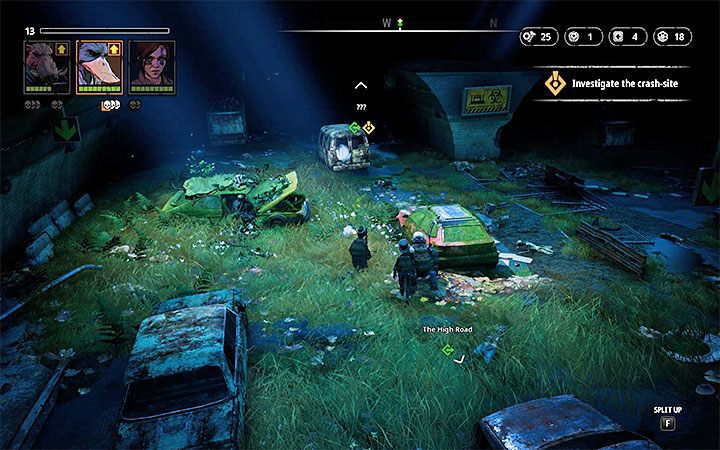 Przeciwnicy - Pyro (poziom 10), Hunter (poziom 10), Med-Bot (poziom 10), Butcher (poziom 10) - Cave of Fear - Atlas świata Mutant Year Zero - Mutant Year Zero - poradnik do gry