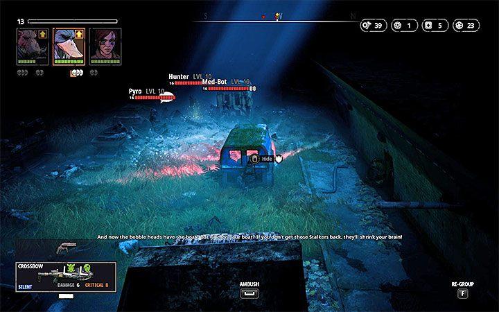 W lokacji tej podróżuje się w linii prostej i zadaniem drużyny jest dotarcie na jej przeciwległy koniec - Cave of Fear - Atlas świata Mutant Year Zero - Mutant Year Zero - poradnik do gry
