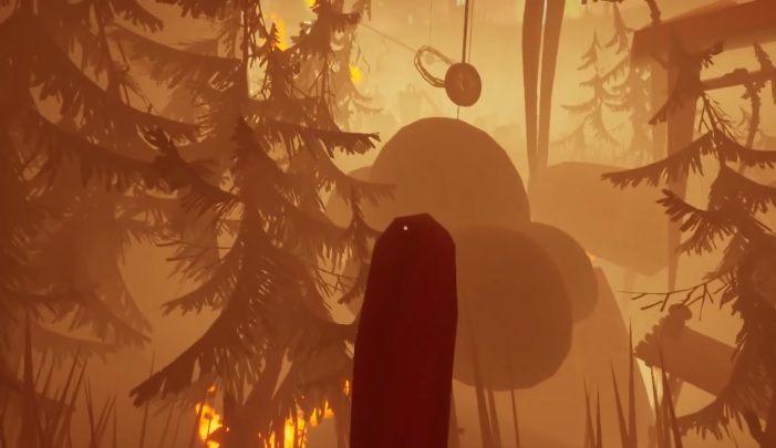 Po uruchomieniu dźwigni wskocz na element pokazany na screenie powyżej - Zadanie trzecie - pożar - Hello Neighbor Hide and Seek - poradnik do gry