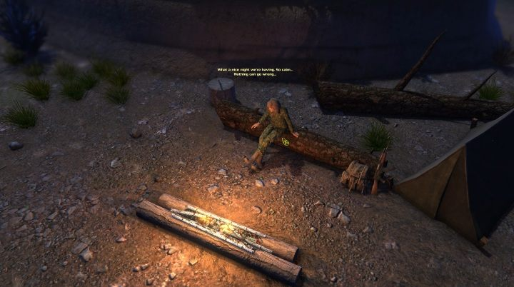 Если вы решите встать, персонаж будет одет в камуфляжный костюм - ATOM RPG - Game Guide