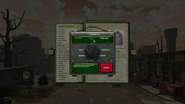 Вы можете выбрать уровень сложности, запустив новую игру - ATOM RPG - Game Guide