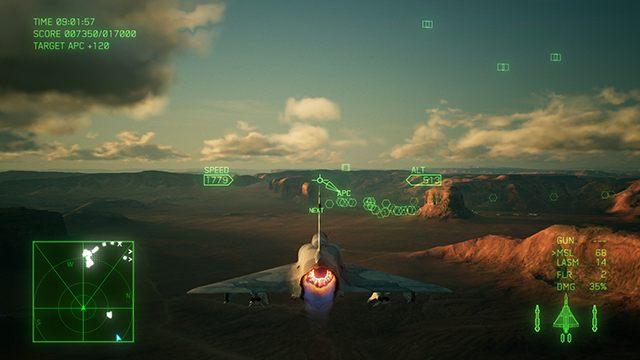 Mnóstwo celów i limit punktów do zdobycia. Normalka w Ace Combat 7. - Jak zmienić poziom trudności w trakcie kampanii Ace Combat 7? - Ace Combat 7 Skies Unknown - poradnik do gry