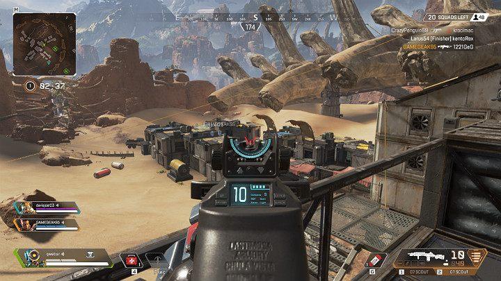 Każda broń w Apex Legends posiada dodatkowy celownik, który w znacznym stopniu wpływa na jej celność - Strzelanie i balistyka pocisków w Apex Legends - Apex Legends - poradnik do gry