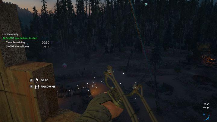 Po zestrzeleniu hełmów udaj się do Nany - Pazury kruka, oczy orła | Zadania poboczne w Far Cry New Dawn - Far Cry New Dawn - poradnik do gry