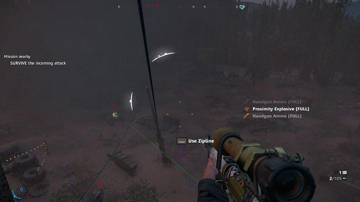 Ostatnim etapem zadania jest pokonanie grupy bandytów, która przywoła Nana - Pazury kruka, oczy orła | Zadania poboczne w Far Cry New Dawn - Far Cry New Dawn - poradnik do gry
