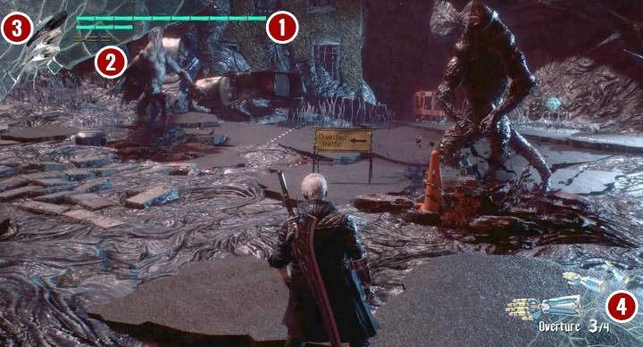 Każdy z bohaterów pod niektórymi przyciskami posiada indywidualne cechy bądź umiejętności - Nero - Interfejs postaci i sterowanie dodatkowe w Devil May Cry 5 - Devil May Cry 5 - poradnik do gry
