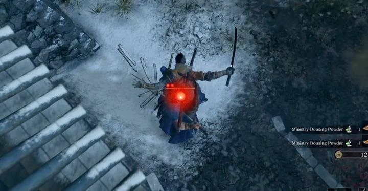 Walkę rozpocznij od ciosu krytycznego z dachu budynku - Shigekichi of the Red Guard - Boss w Sekiro Shadow Die Twice - Sekiro Shadows Die Twice - poradnik do gry