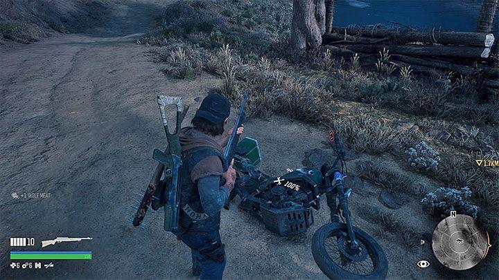 Jeżeli spadłeś z motocykla to nie możesz od razu kontynuować jazdy - Jak unikać upadków z motocykla w Days Gone? - Days Gone - poradnik do gry