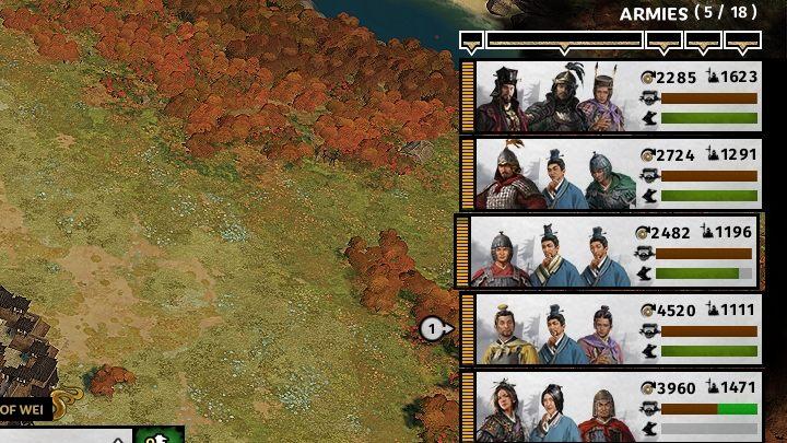 Przed rozpoczęciem wojny warto przygotować swoje armie. - Przygotowania do wojny z innymi frakcjami w Total War Three Kingdoms - Total War Three Kingdoms - poradnik do gry