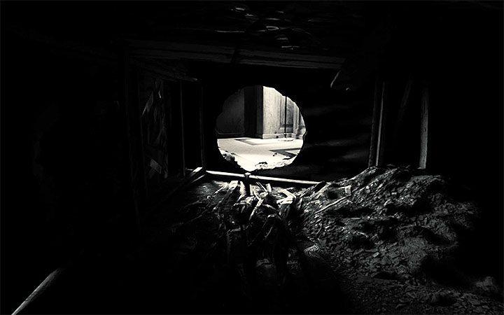 Rozwiązywaniem zagadki z sejfem zajmiesz się niedługo po przeciśnięciu się przez tunel - Zagadka z sejfem | Rozwiązanie zagadki w Layers of Fear 2 - Layers of Fear 2 - poradnik do gry