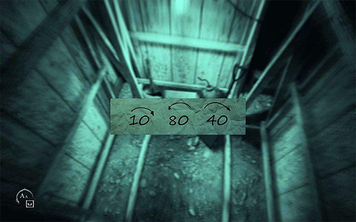 Po wyjściu z tunelu zacznij od udania się w prawo - Zagadka z sejfem | Rozwiązanie zagadki w Layers of Fear 2 - Layers of Fear 2 - poradnik do gry