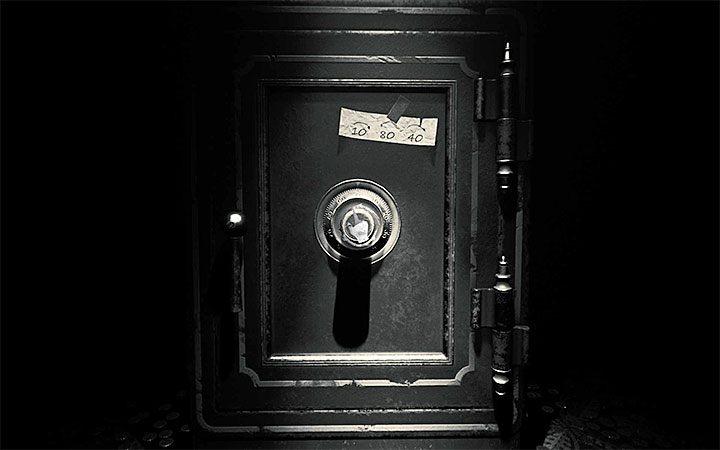 Dopiero po wejściu do skarbca możesz wejść w interakcję z sejfem - Zagadka z sejfem | Rozwiązanie zagadki w Layers of Fear 2 - Layers of Fear 2 - poradnik do gry